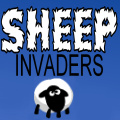 A sheepish version of the classic Space Invaders.