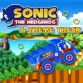 Help Sonic control a truck to collect rings across the island.