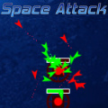 Space Attack is mix of a strategy game and a puzzle game.