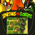 Fight with the goblins in a strategic game inspired by classic Pawn Duel