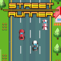 Avoid trains, cars, police, ambulances & boats in this racing game.