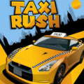 Drive a taxi, trying to get your customers to their destination on time.