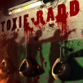 A zombie shooting game with a B-movie splatter-horror mood.