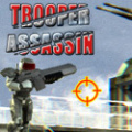 Infiltrate the enemy base and defeat the enemy troopers.