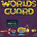 Protect four worlds from attacking enemies in this tower-defense game.