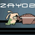 Help Zayo make the fat zombie lord pay for his cruelties against bunnies