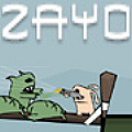 Help Zayo the killer bunny, chase and defeat the fat zombie lord.