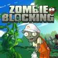 Your way is blocked by zombies, just use your sniper rifle to kill them.